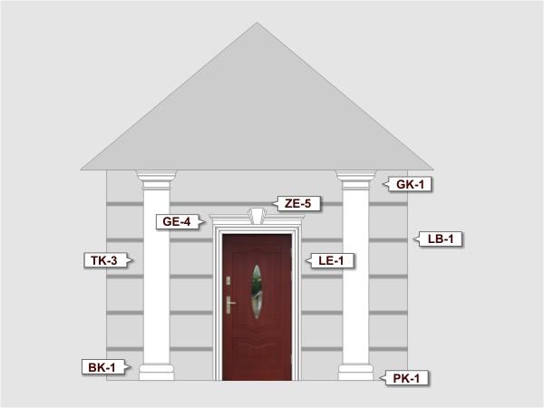 Listwa do boniowania LB-1 - Zestaw 1