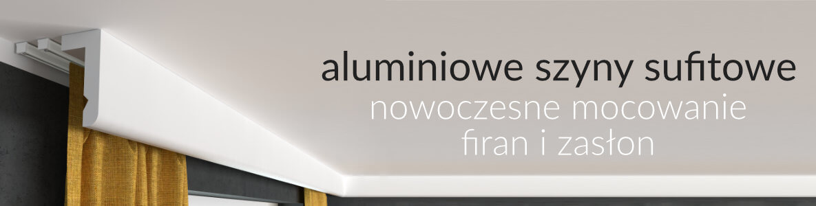 aluminiowe szyny sufitowe