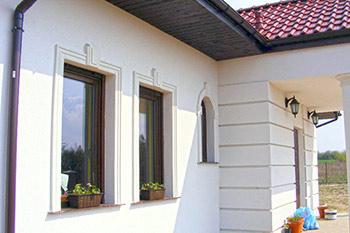 Listwy elewacyjne zewnętrzne - listwy elewacyjne okienne