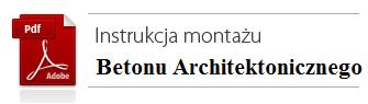 Instrukcja montażu betonu architektonicznego